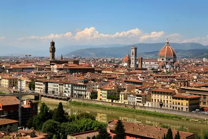 מסלול טיול בפירנצה - טוסקנה