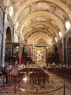 מסלול טיול למלטה, וולטה Valletta Cathedral