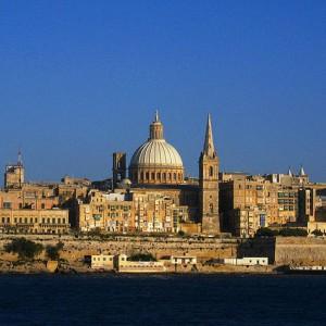 מסלול טיול במלטה, וולטה - Valletta skyline