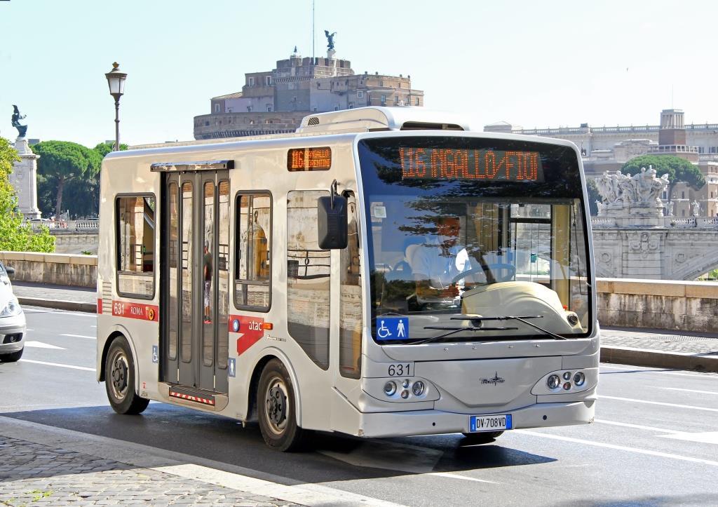 אוטובוס נגיש ברומא