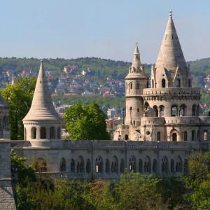 מצודת הדייגים בודפשט הונגריה