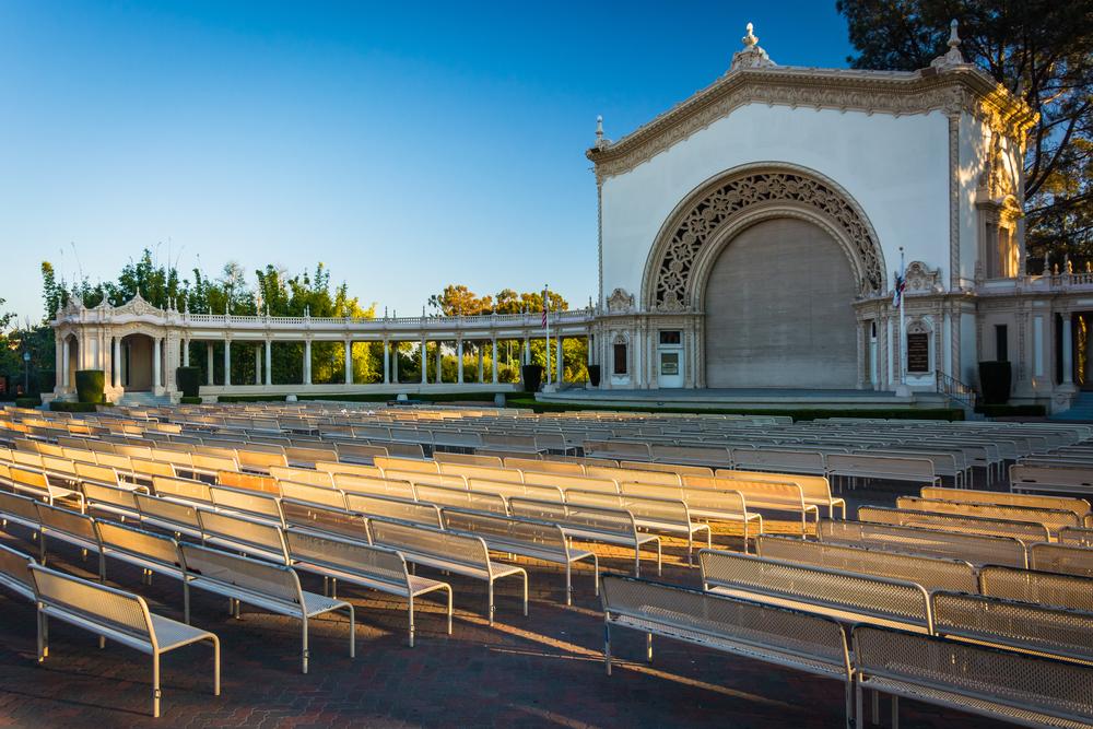 ביתן האורגן, פארק בלבואה סן דייגו