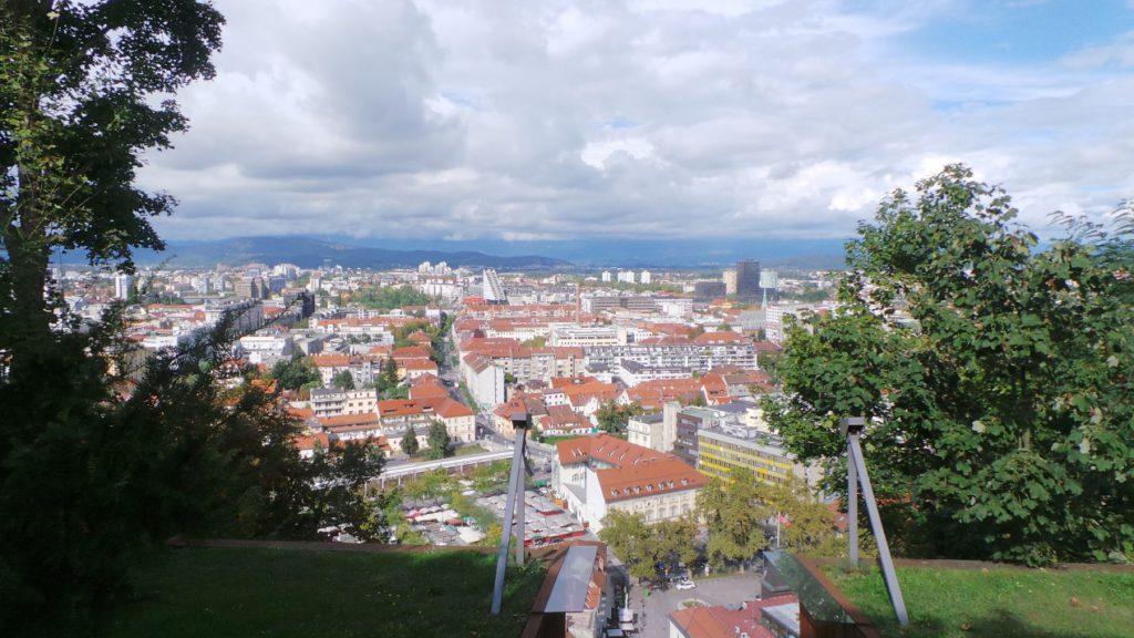 נוף העיר לובליאנה