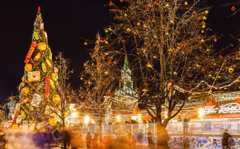 אורות שוק חג המולד