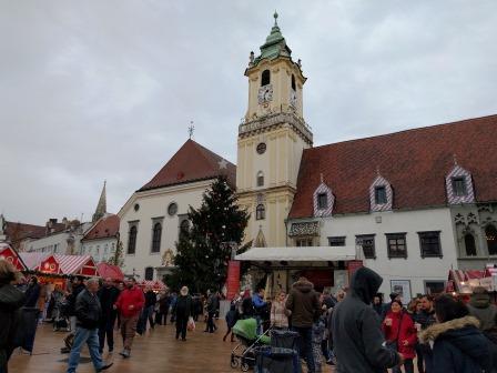 שוק חג המולד ברטיסלבה