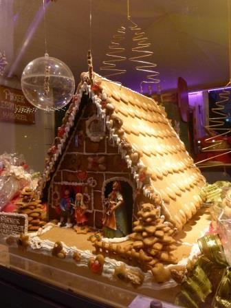 בית עוגיות הג'ינג'ר בשוק חג המולד בוינה