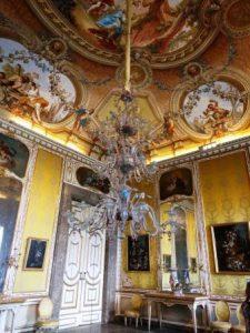 החדרים בארמון