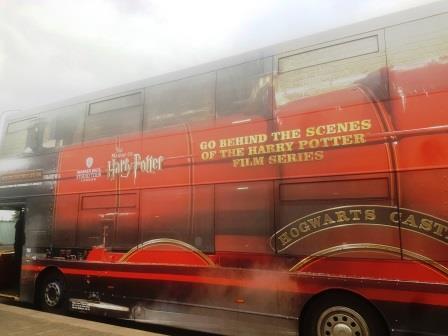 האוטובוס לאולפני הארי פוטר