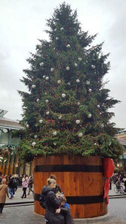 עץ חג המולד בקובנט גארדן