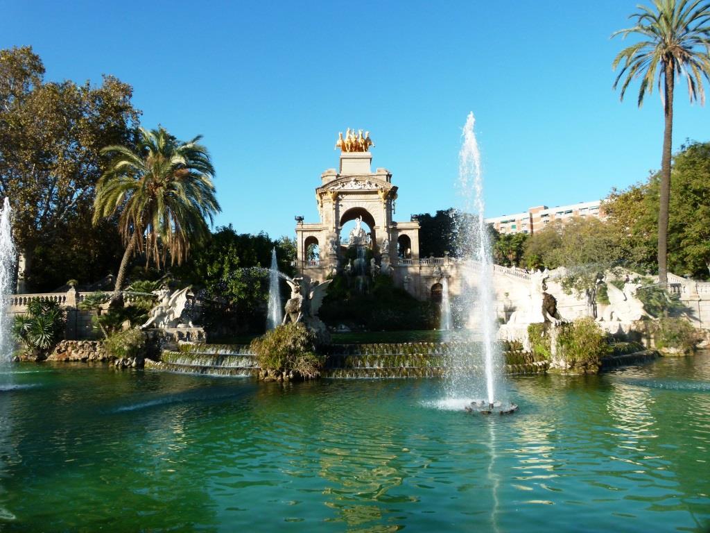 מזרקה בפארק סיוטדלה ברצלונה