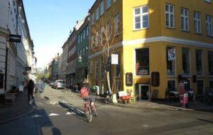 רחוב טיפוסי בקופנהגן