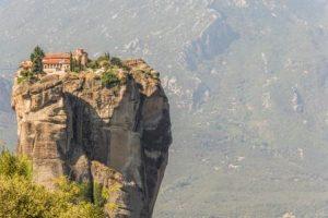 מנזרי מטאורה יוון ההררית
