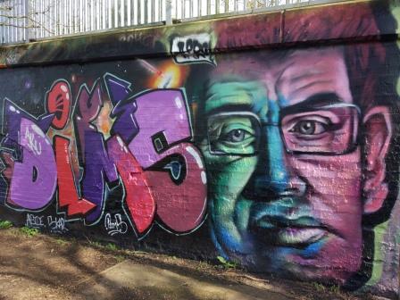 אומנות רחוב בקיימברידג'