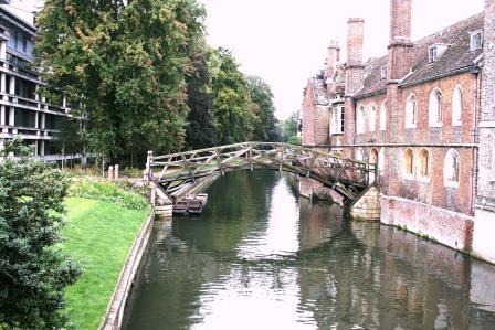 גשר על הנהר בקיימברידג'